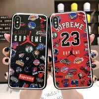 Supreme JORDAN 23 IPHONE X XS XR XSMAX 6S 7 8 PLUS ケース 耐衝撃性